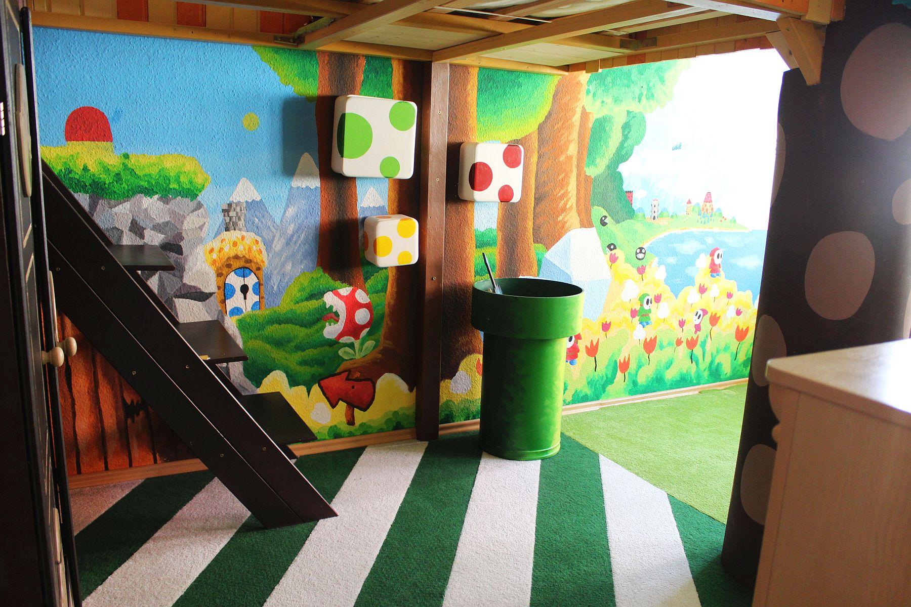 Awesome Super Mario Kinderzimmer Gallery - Erstaunliche ...