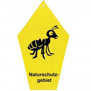 Naturschutzschild Ameise